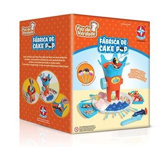 Fábrica de Cake Pop - Estrela  - Doce Diversão