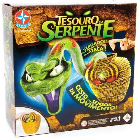 Jogo Tesouro da Serpente - Estrela  - Doce Diversão