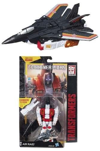 Transformers Combiner Deluxe - Air Raid - Hasbro  - Doce Diversão