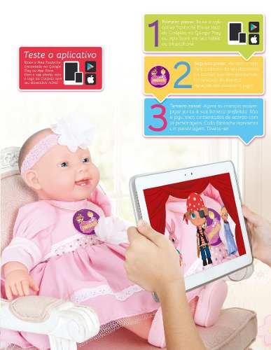 Boneca Fantoche Encantado com aplicativo – Cotiplás  - Doce Diversão