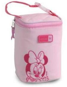 Porta Mamadeira Minnie Baby Soft - 4 Cavidades  - Doce Diversão