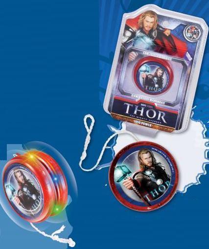 Ioiô Power Thor - Cartela  - Doce Diversão