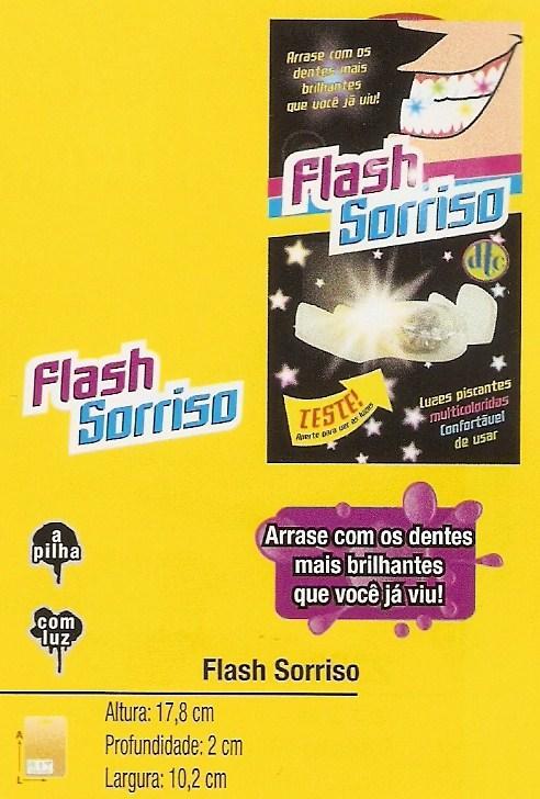 Flash Sorriso Cartela Com 1 Unidade  - Doce Diversão