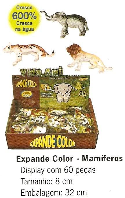 Expande Color De Mamiferos Com 6 Unidades  - Doce Diversão