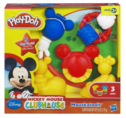 Play Doh Disney Molde Mickey Mouse Club House - Hasbro  - Doce Diversão