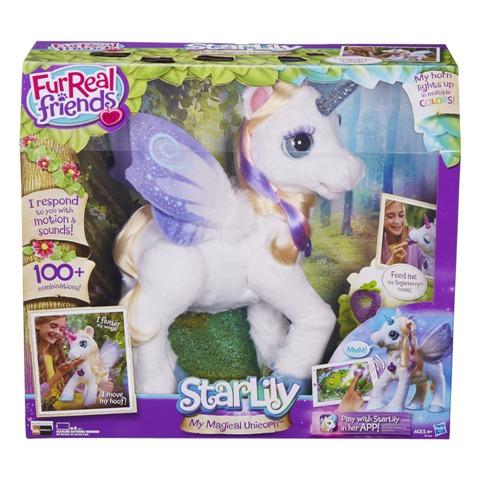 Furreal Friends Unicórnio Starlily – Novo 2015 - Hasbro  - Doce Diversão