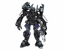 Chaveiro Transformers Decepticon Barricade  - Doce Diversão