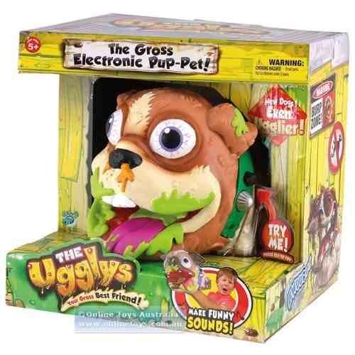 Ugglys – Bege - Cachorro Eletronico Nojento - Dtc  - Doce Diversão