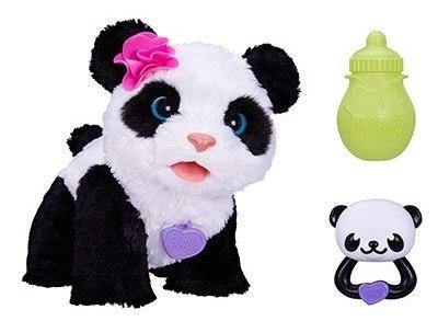 Pelúcia Interativa Furreal Panda Pam Pam Engatinha - Hasbro  - Doce Diversão