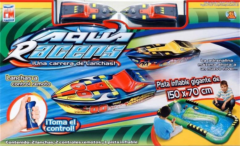 Aqua Racer Deluxe Set - pista  + 2 barcos - Mulikids  - Doce Diversão