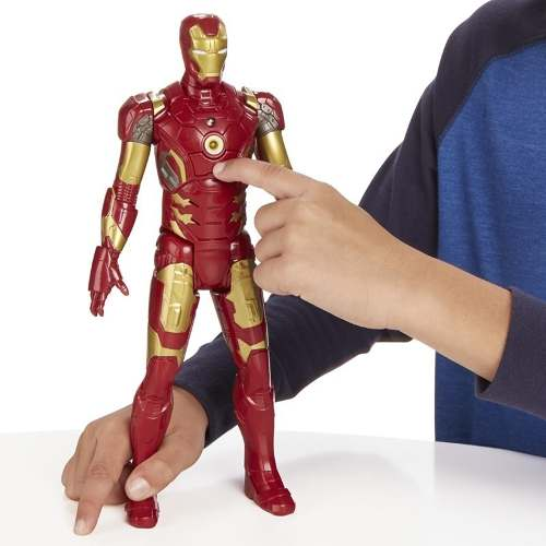 Boneco Eletrônico Iron Man Vingadores Era De Ultron Hasbro  - Doce Diversão