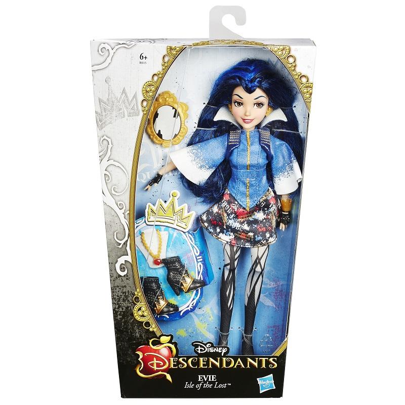 Boneca Descendants Vilãs - Evie (Rainha Má) - Hasbro  - Doce Diversão