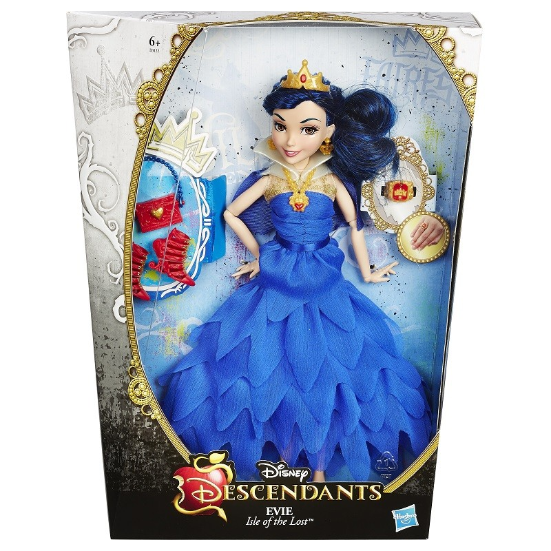 Boneca Descendants Vilãs Coroação – Evie (Rainha Má ) - Hasbro  - Doce Diversão