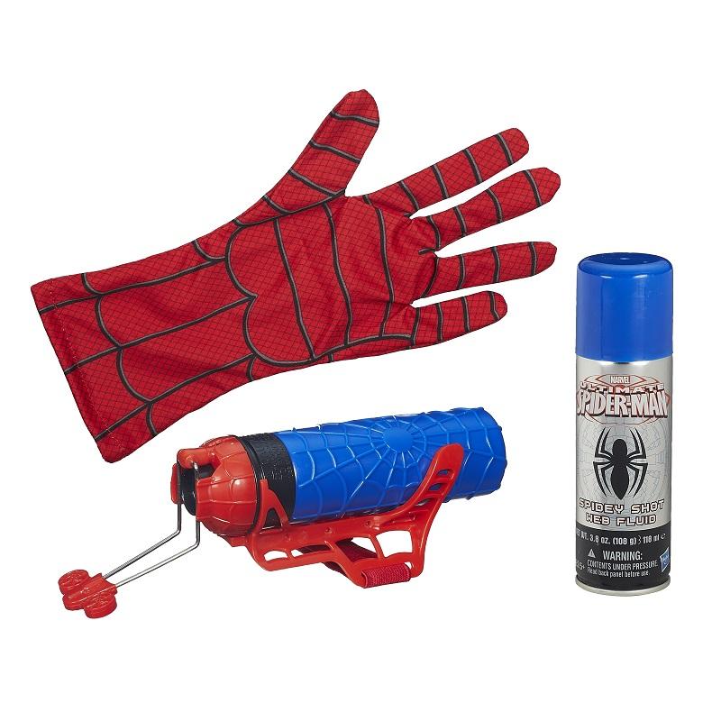 Spider Man Web Warriors Lançador Teias com luva - Hasbro  - Doce Diversão