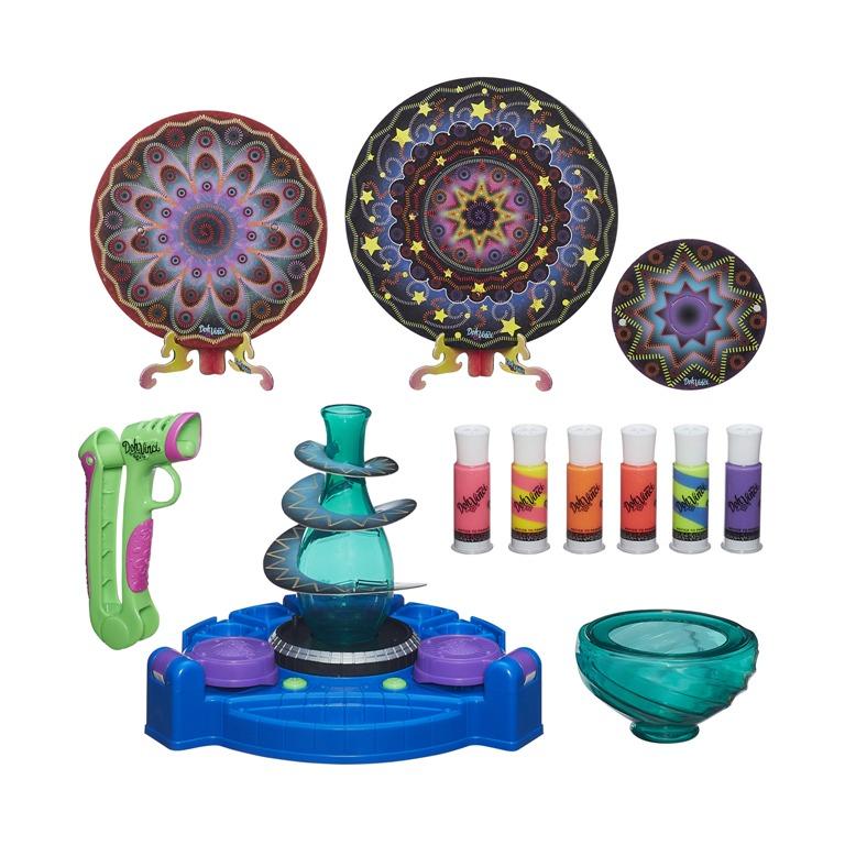 Play Doh Vinci Ateliê Giratório - Modo Trabalho e Exibição - Hasbro  - Doce Diversão