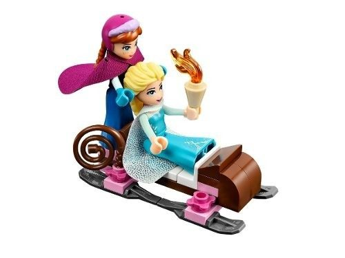 Lego 41062 - Lego Frozen  O Castelo De Gelo Da Elsa (brasil)  - Doce Diversão