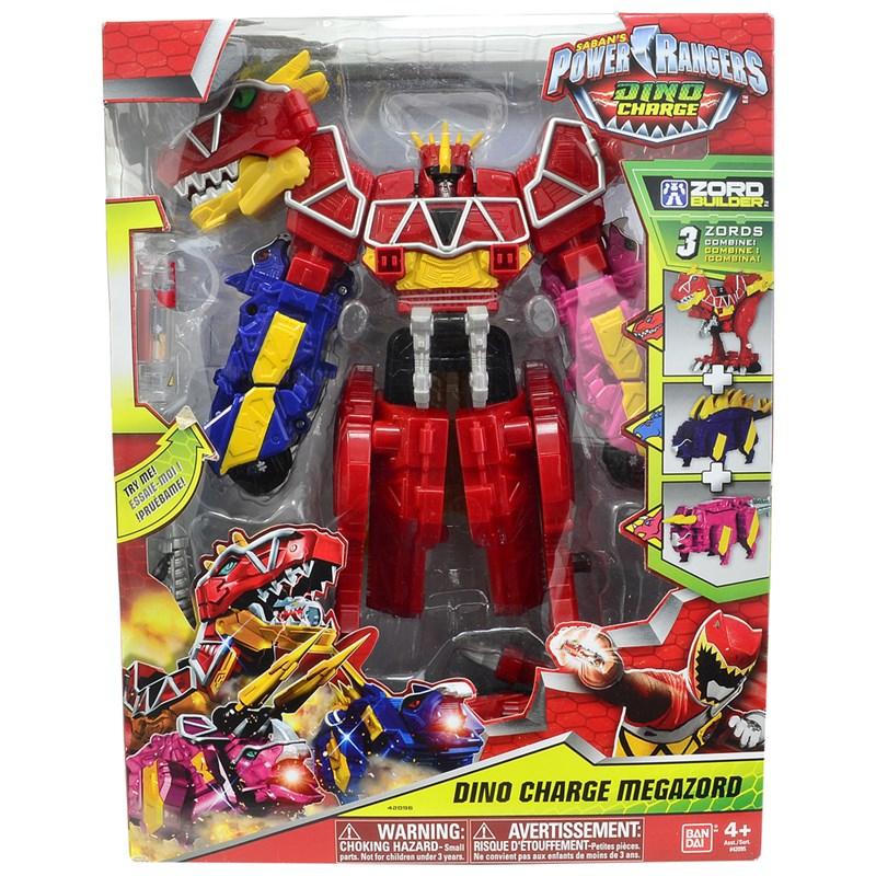 Power Ranger Dino Charger Megazord - 3 zords -Sunny  - Doce Diversão