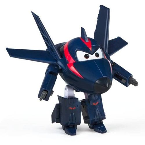 AVIÃO TRANSFORME SUPER WINGS - CHANGE UP AGENT CHACE- FUN  - Doce Diversão