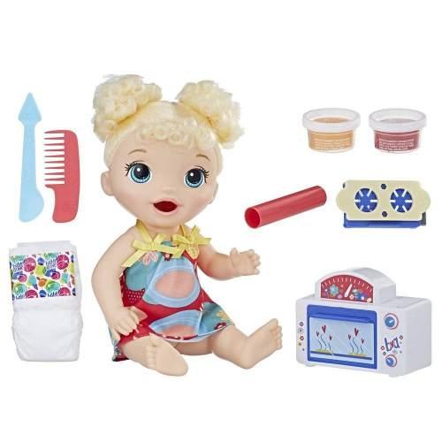 Baby Alive Meu Primeiro Forninho Loira Hasbro   - Doce Diversão