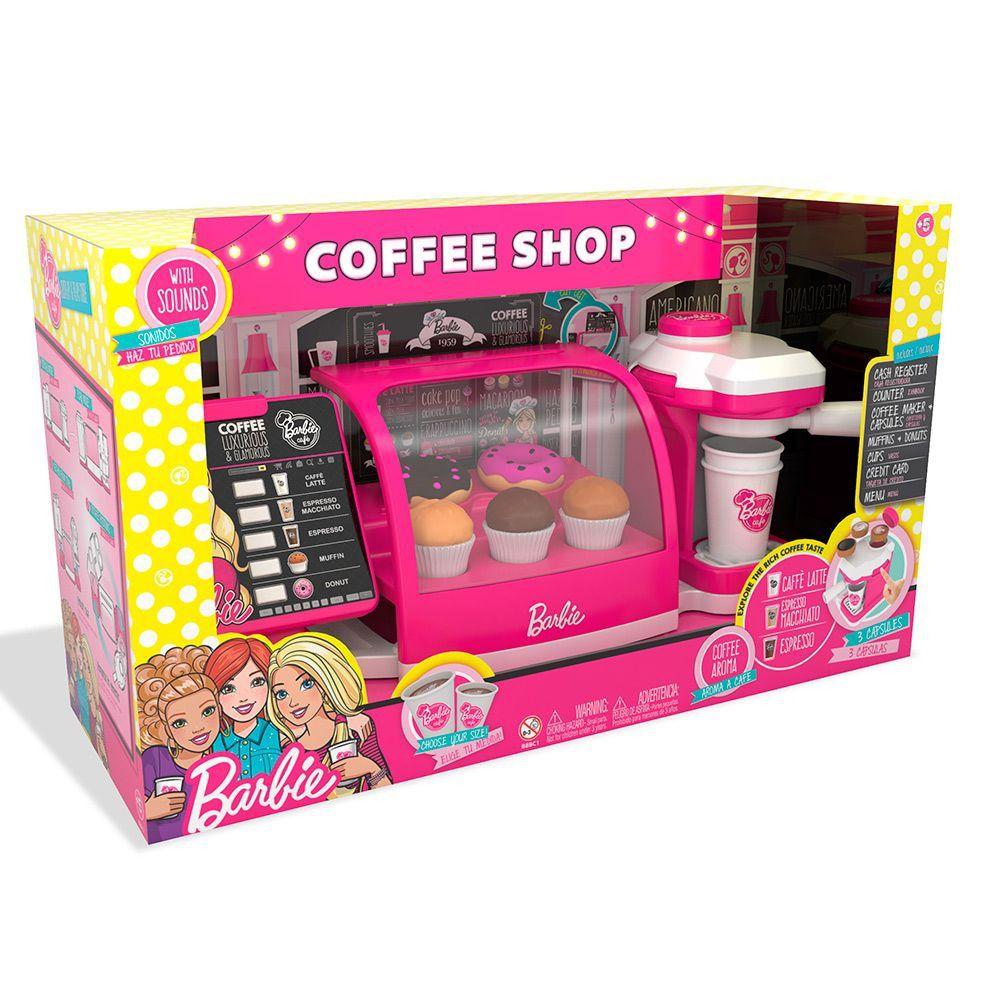 Barbie Cafeteria Fabulosa luxo - Fun   - Doce Diversão