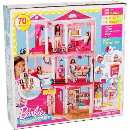 Barbie Casa Real dos Sonhos Mobiliada - Mattel  - Doce Diversão
