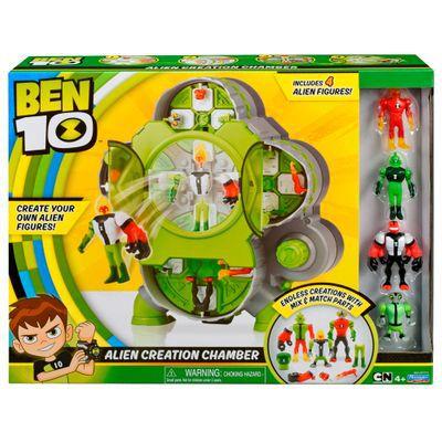 Ben 10 Câmara de Criação Alien C/ 4 bonecos Aliens - Sunny  - Doce Diversão