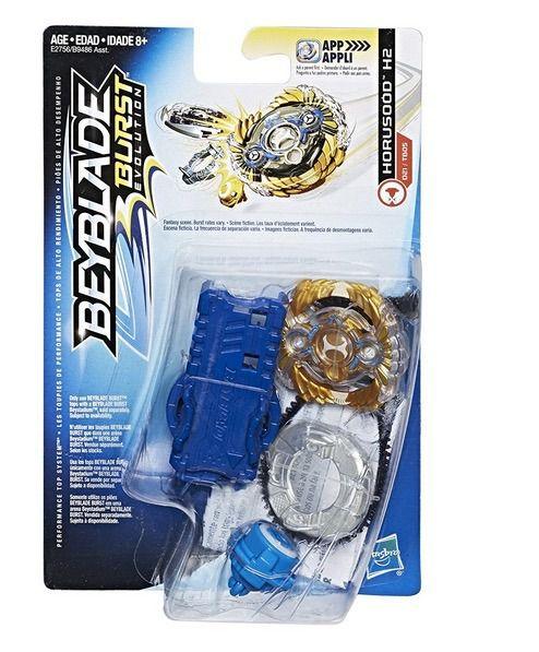 Bey Blade Burst  Evolution Pião Com Lançador Ataque Horusood H2- Hasbro  - Doce Diversão