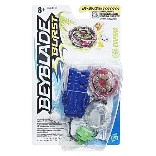Bey Blade Burst Pião Com Lançador Ataque Evipero - Hasbro  - Doce Diversão