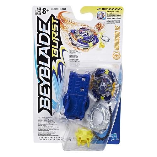 Bey Blade Burst Pião Com Lançador Ataque Horussod H2 - Hasbro  - Doce Diversão