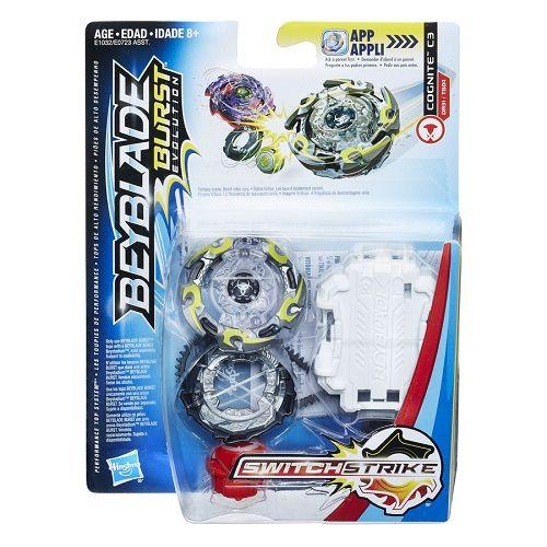 Bey Blade Burst Switchstrike Cognite C3 – Solta Faísca  Hasbro  - Doce Diversão