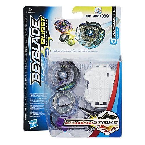 Bey Blade Burst Switchstrike Doomscizor D3– Solta Faísca  Hasbro  - Doce Diversão