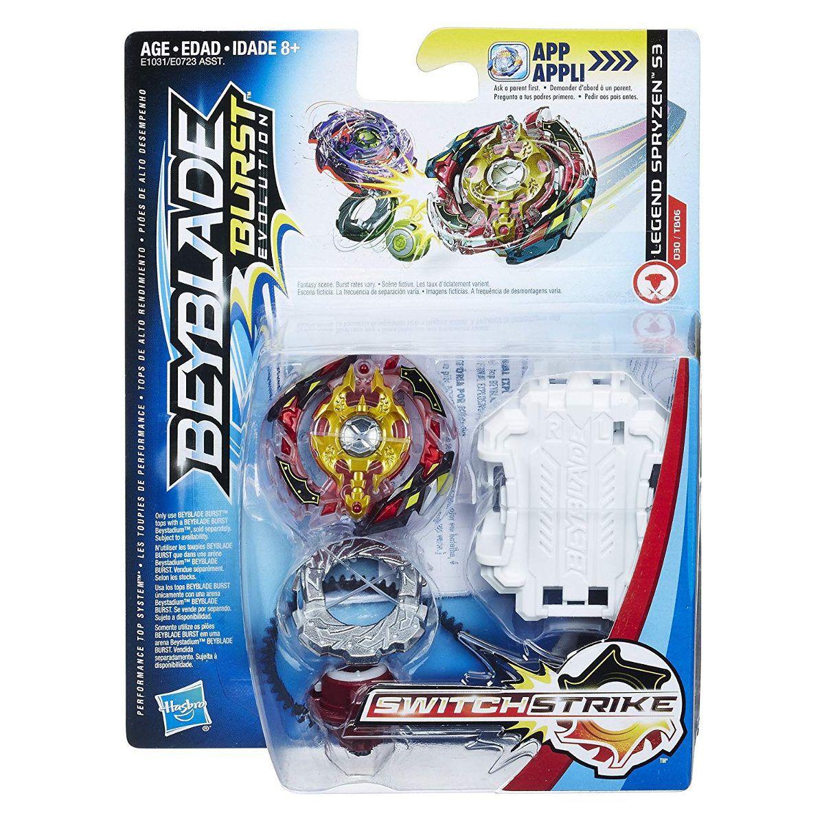 Bey Blade Burst Switchstrike Spryzen S3 – Solta Faísca  Hasbro  - Doce Diversão