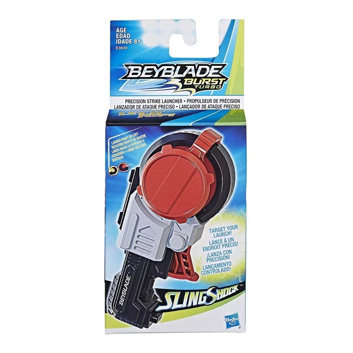 Beyblade Burst Sling Shock Lançador De Ataque Precisão - Hasbro  - Doce Diversão