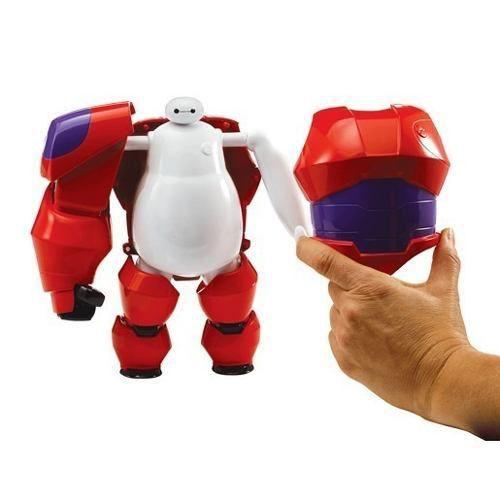Big Hero 6 Armadura Baymax Transformação 22 cm Com 20 peças Sunny  - Doce Diversão