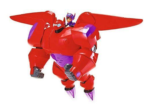 Big Hero Baymax Luxo Chama Voadora Com Hiro + 20 Sons Sunny  - Doce Diversão