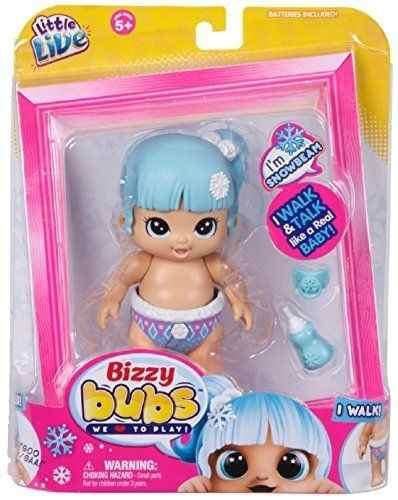Boneca Bizzy Bubs Nevinha – Anda e Fala – DTC  - Doce Diversão