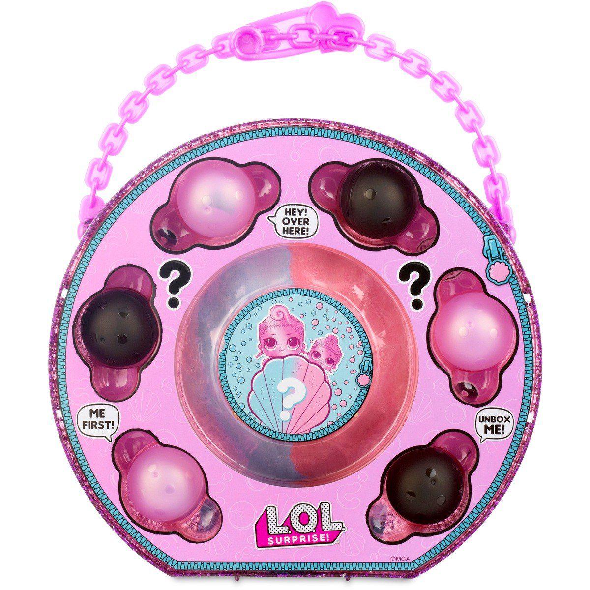 Boneca Lol Surprise - Lol Pearl Surprise Rosa - Candide  - Doce Diversão
