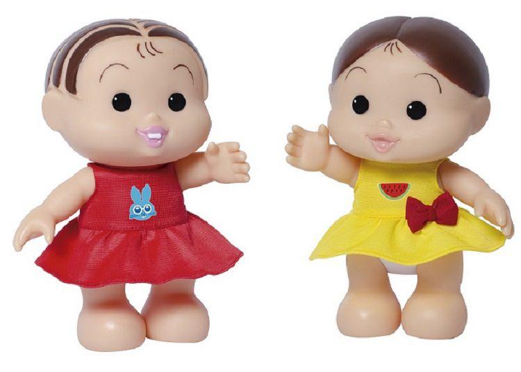 Boneca Turma da Mônica Iti Malia – Magali e Mônica 23 cm – Baby Brink  - Doce Diversão
