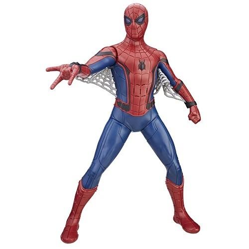 Boneco 38 cm Spiderman Volta ao Lar Eletronico C/ 40 sons  - Hasbro  - Doce Diversão