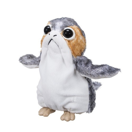 Boneco Disney Pelucia Eletronica Star Wars VIII Porg - Hasbro  - Doce Diversão