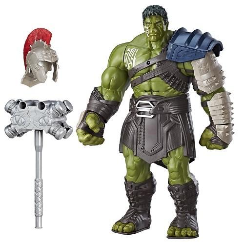 Boneco Eletronico Interativo Hulk Gladiador 34 cm  Fala Portugues - Hasbro  - Doce Diversão