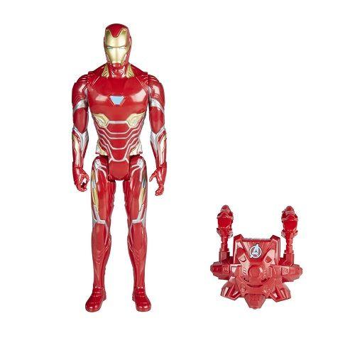 Boneco Homem de Ferro Power FX Eletronico Portugues 30cm - Hasbro  - Doce Diversão