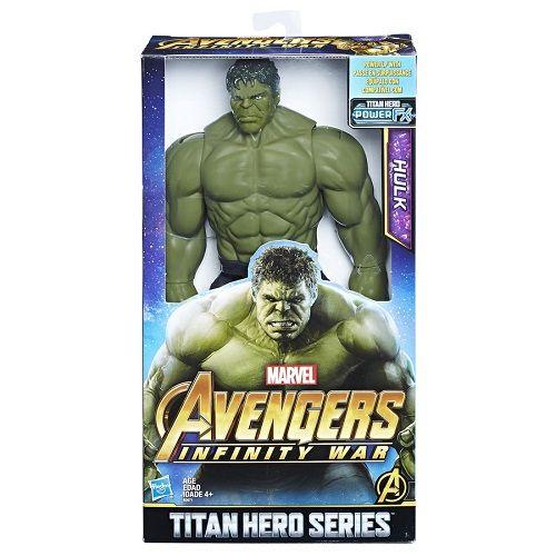 Boneco Hulk Power FX vingadores Guerra infinita 30 cm Hasbro   - Doce Diversão