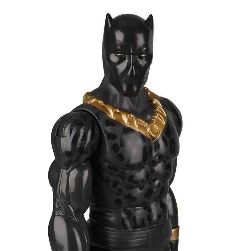 Boneco Marvel Pantera Negra Articulado 30cm  - Hasbro   - Doce Diversão