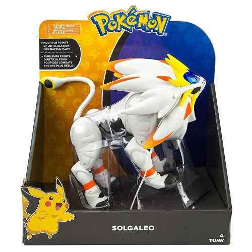 Boneco Pokemon Legendary Solgaleo Articulado Sunny   - Doce Diversão