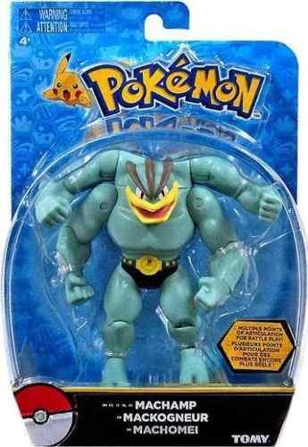 Boneco Pokémon Machamp Figura Ação 12 cm Articulado Tomy  - Doce Diversão