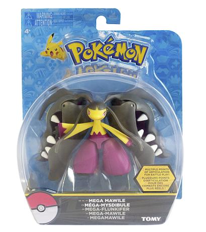 Boneco Pokémon Mega Mawile Figura Ação 10 cm Articulado Tomy  - Doce Diversão