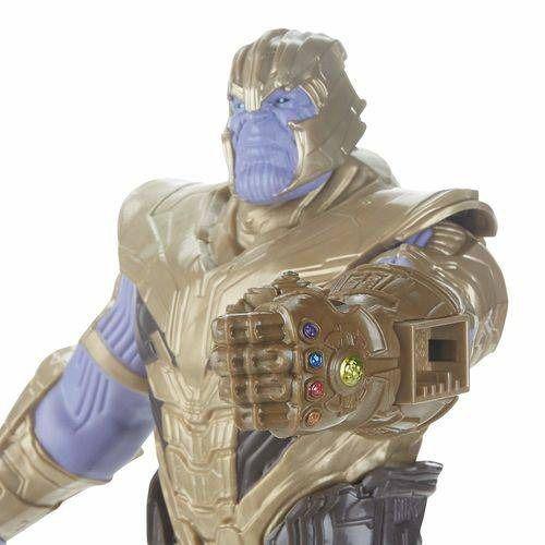 Boneco Titan FX Vingadores Avengers Ultimato - Thanos 30 cm Articulado  - Hasbro  - Doce Diversão