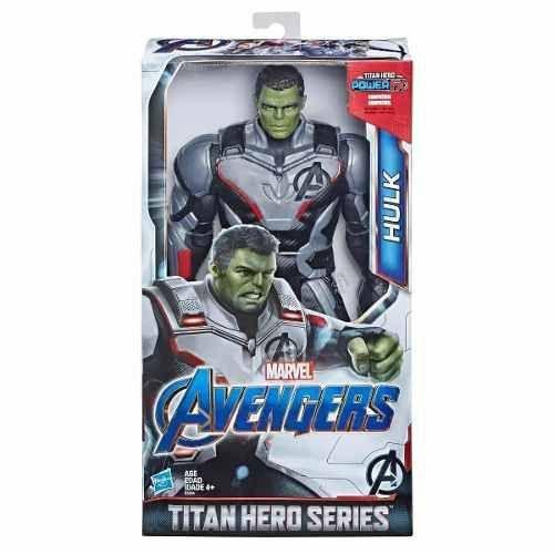 Boneco Titan FX Vingadores Avengers Ultimato - Hulk 30 cm Articulado  - Hasbro  - Doce Diversão