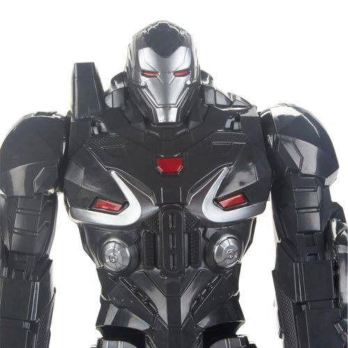 Boneco Titan FX Vingadores Avengers Ultimato - Máquina Combate 30 cm Articulado  - Hasbro  - Doce Diversão